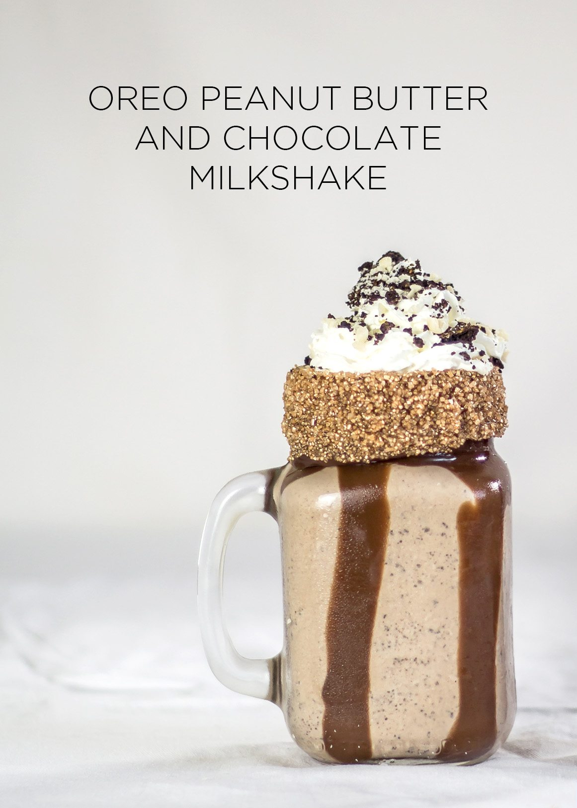 Oreo Peanut Butter and Chocolate Milkshake-11
