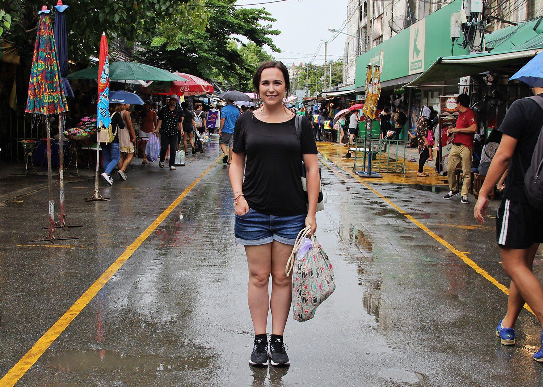 Shopping at Chatuchak Market