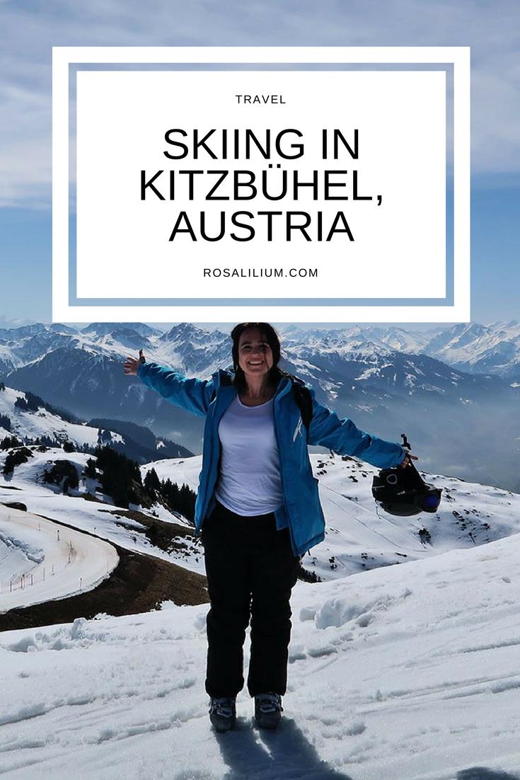 Skiing in Kitzbuhel Austria