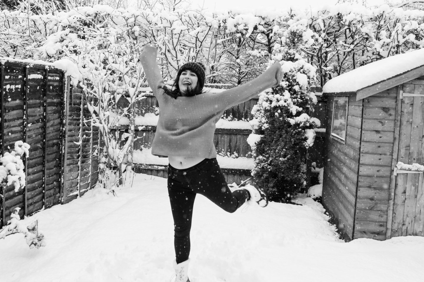 Snow Leaping