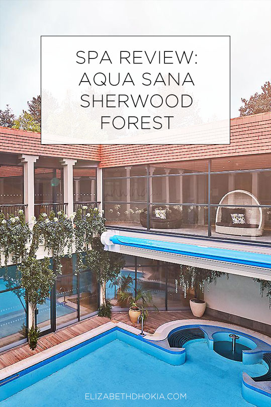 Spa at Aqua Sana Sherwood Forest