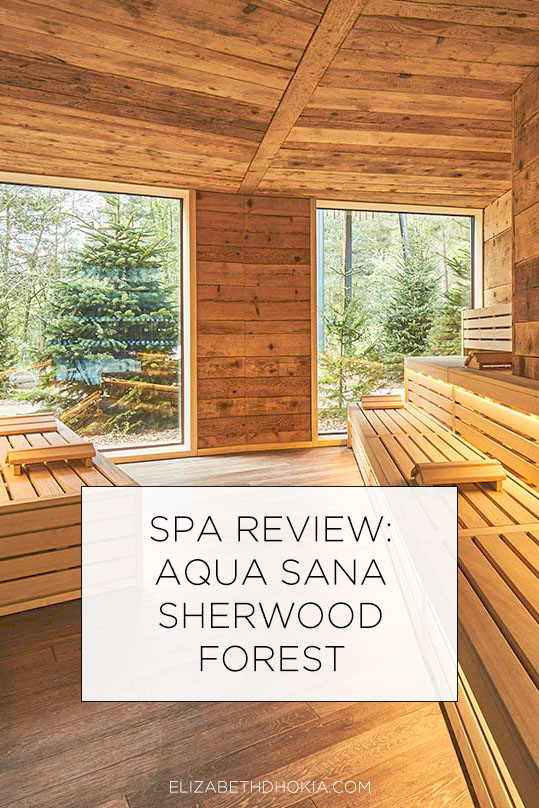 Spa review Aqua Sana Sherwood
