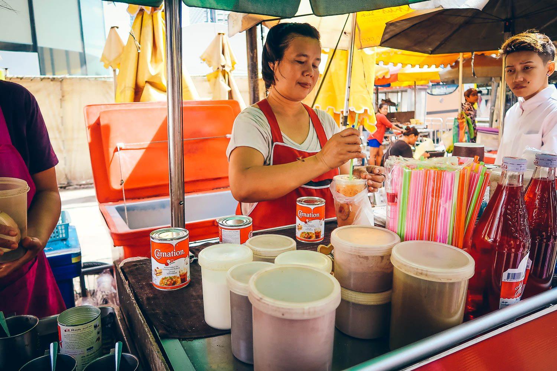 Street food Iced Coffee