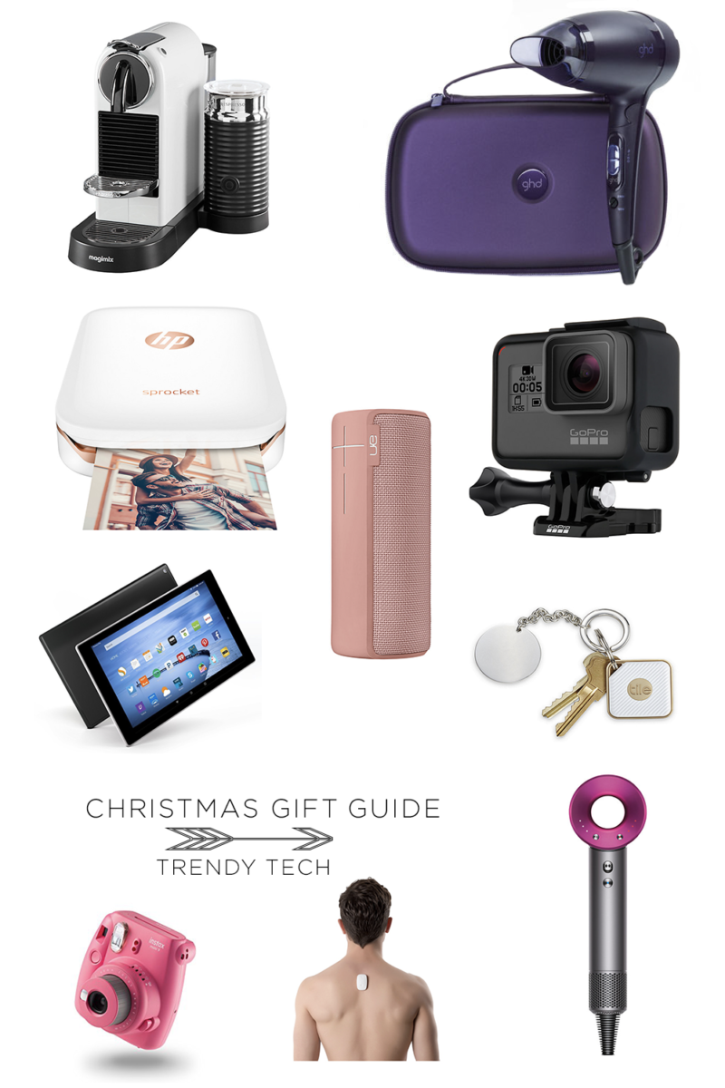 TRENDY TECH CHRISTMAS GIFT GUIDE