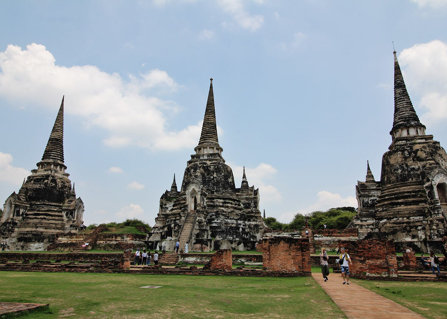 Temple in Ayutthaya