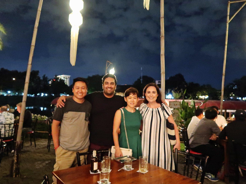 Thai friends in Chiang Mai