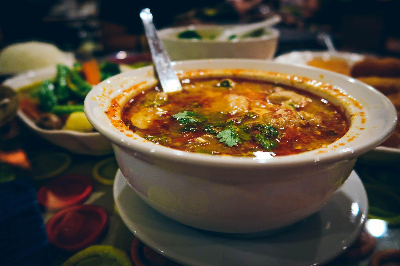 Tom Yum Soup