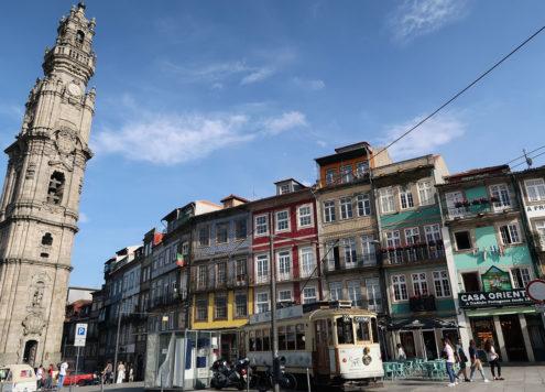 Tram in Porto 2
