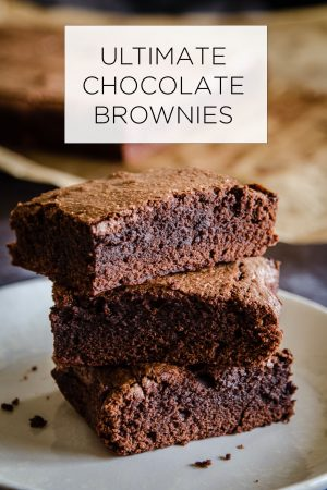 Ultimate Chocolate Brownies Recipe