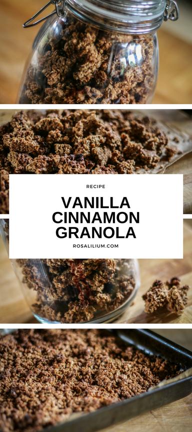 Vanilla Cinnamon Granola Recipe