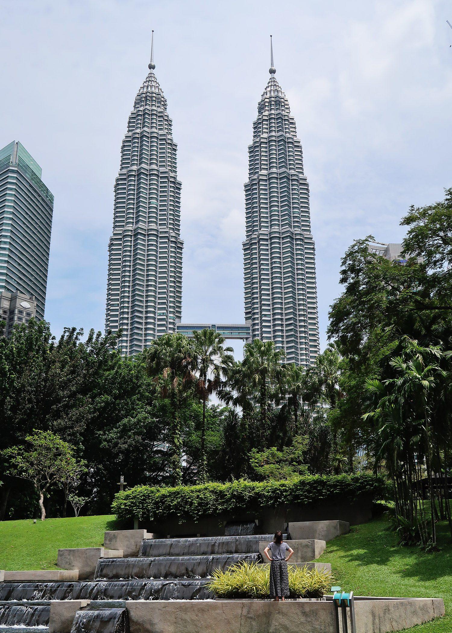 Visiting the Petronas Towers