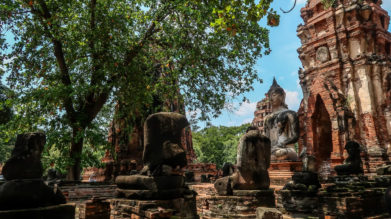 Wat Maha That Ayutthaya Thailand