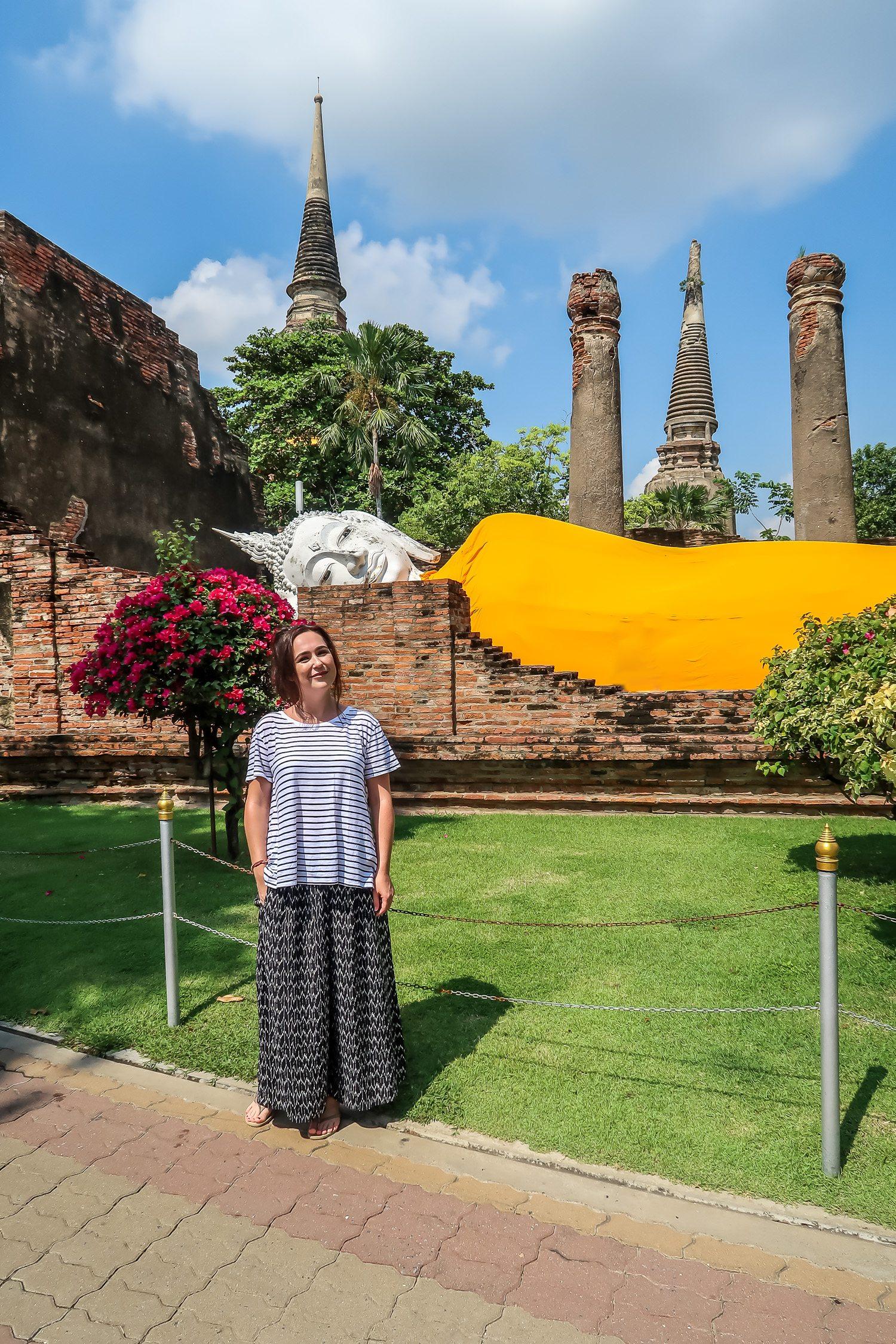 Wat Yai Chai Mongkhon AyutthayaThailand