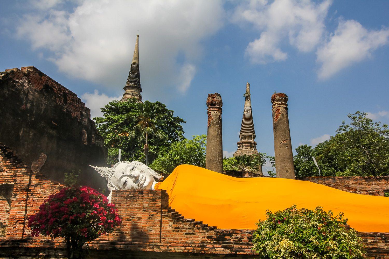 Wat Yai Chai Mongkhon Buddha Ayutthaya