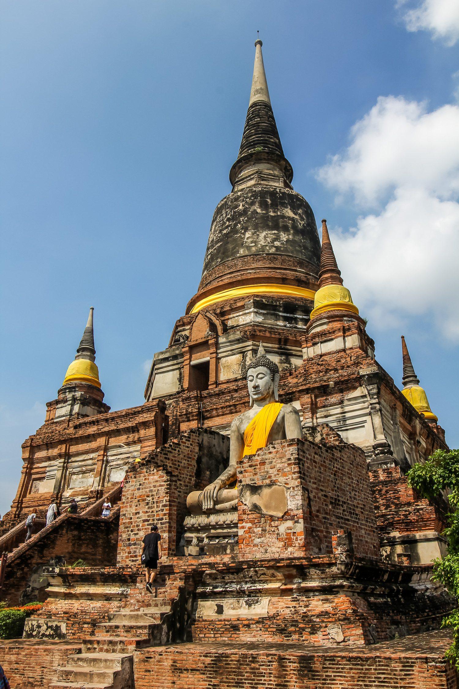 Wat Yai Chai Mongkhon Stupa
