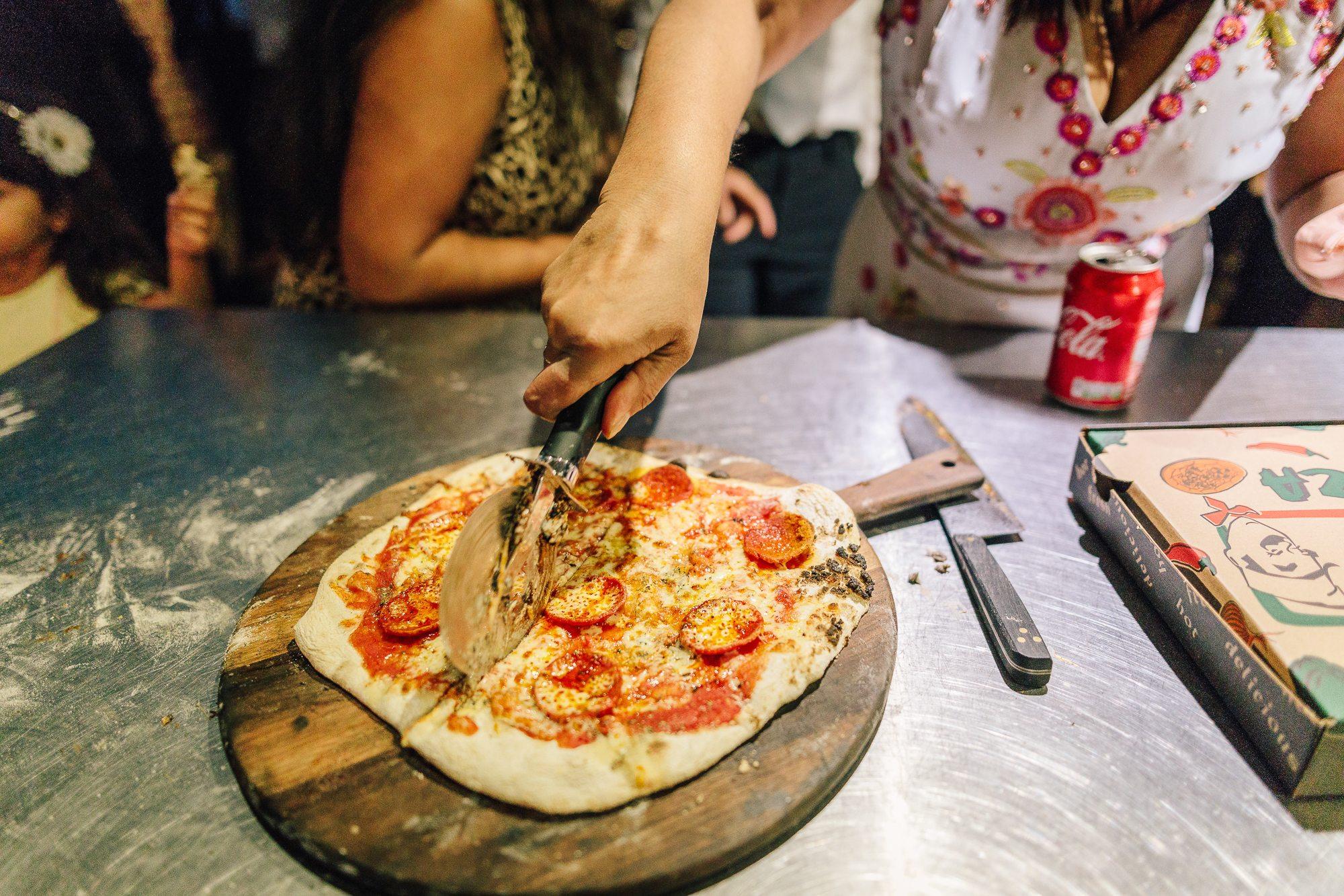 Wedding Pizza Oven