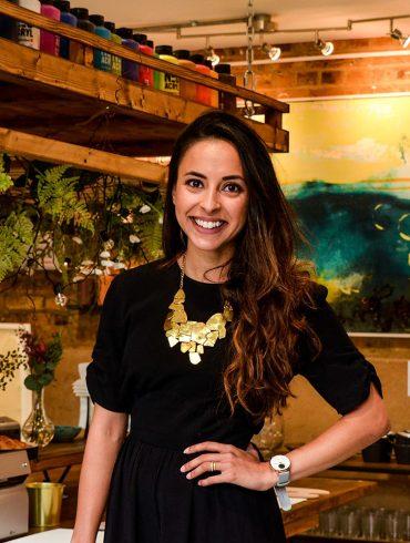 Zena El Farra at MasterPeace Studios