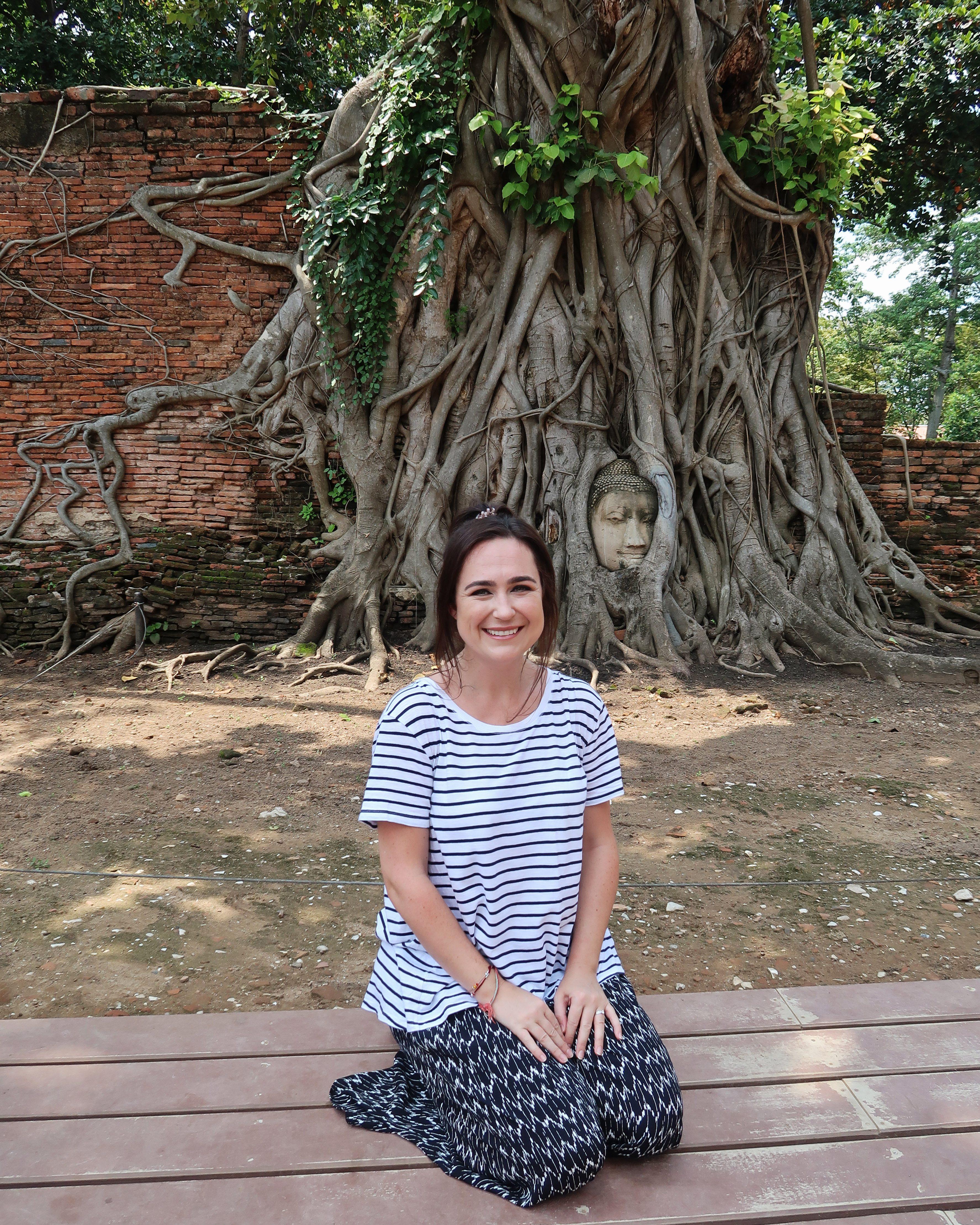 ayutthaya buddha tree