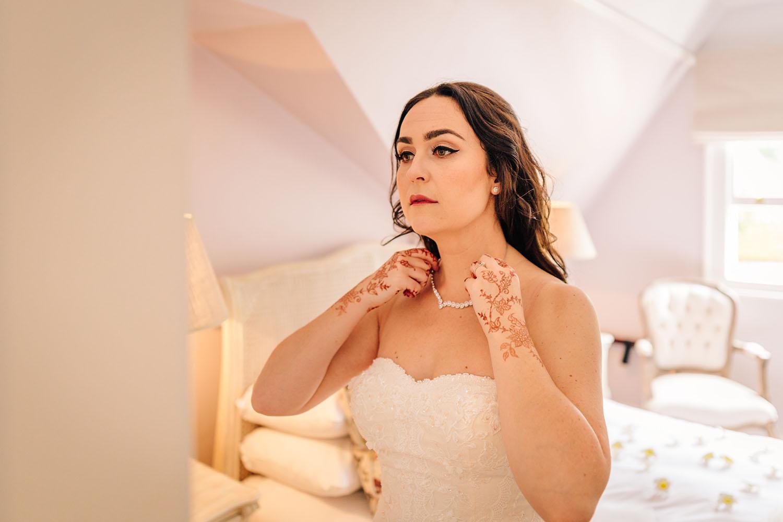 do you own wedding make up
