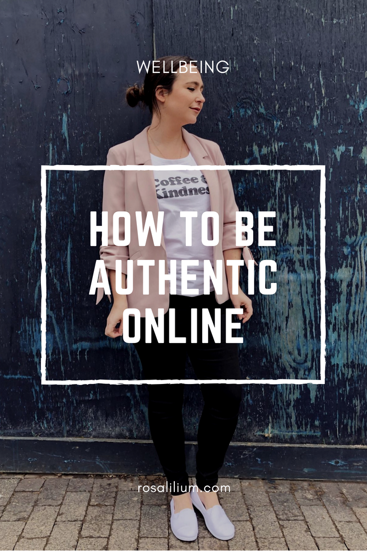 how to be authentic online
