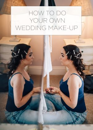 how to do your own wedding make up PIN