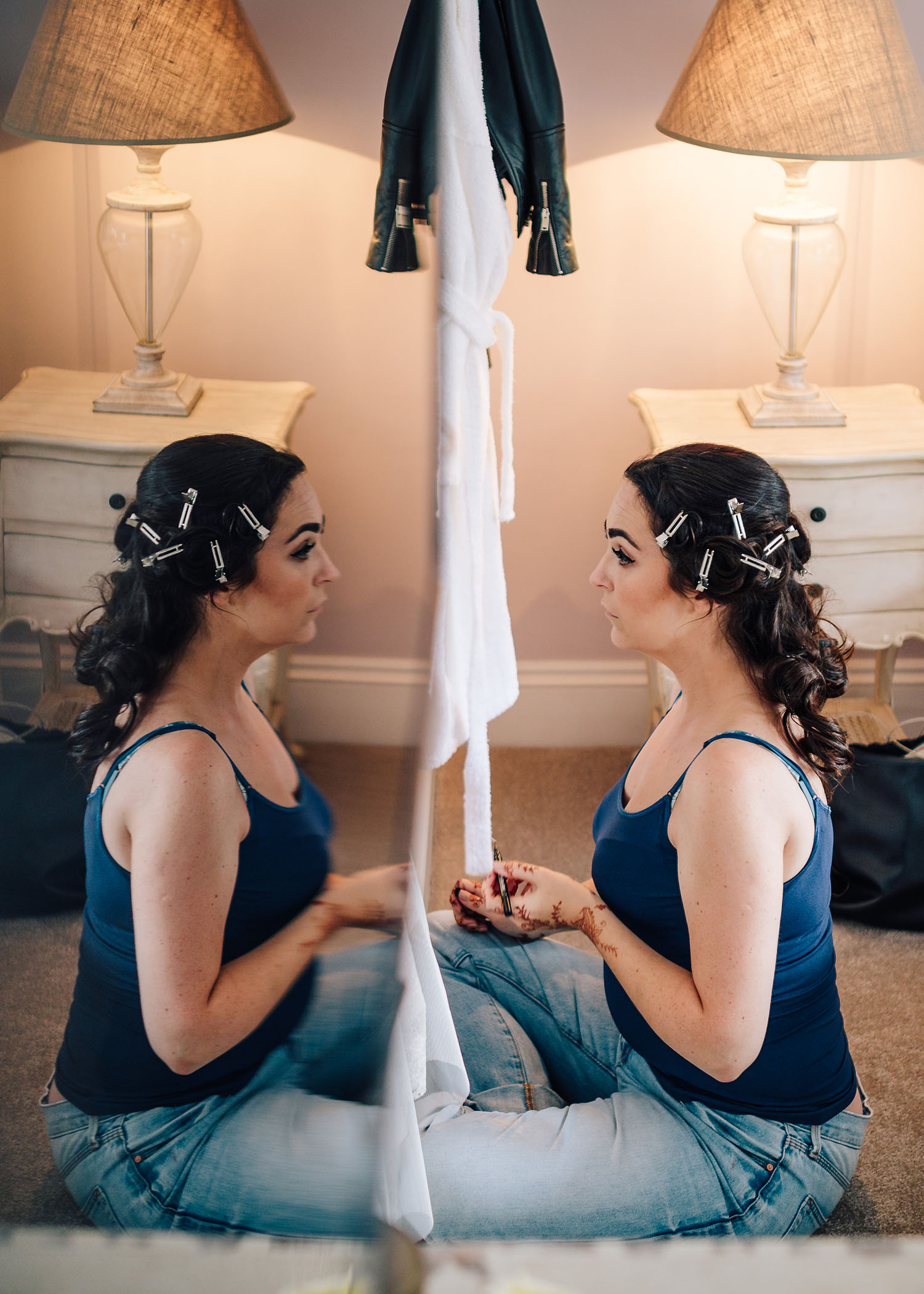 how to do your own wedding make up