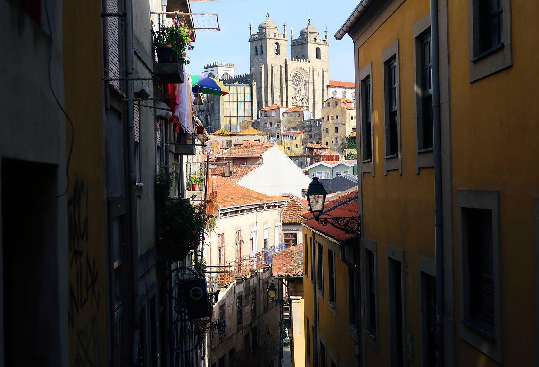 old quarter of Porto