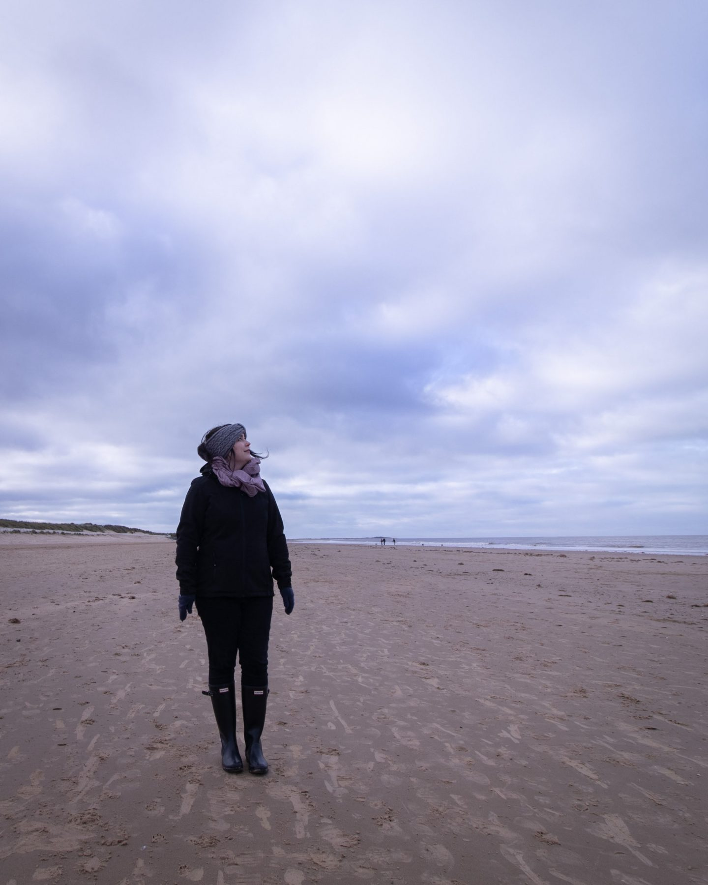 on the norfolk beach