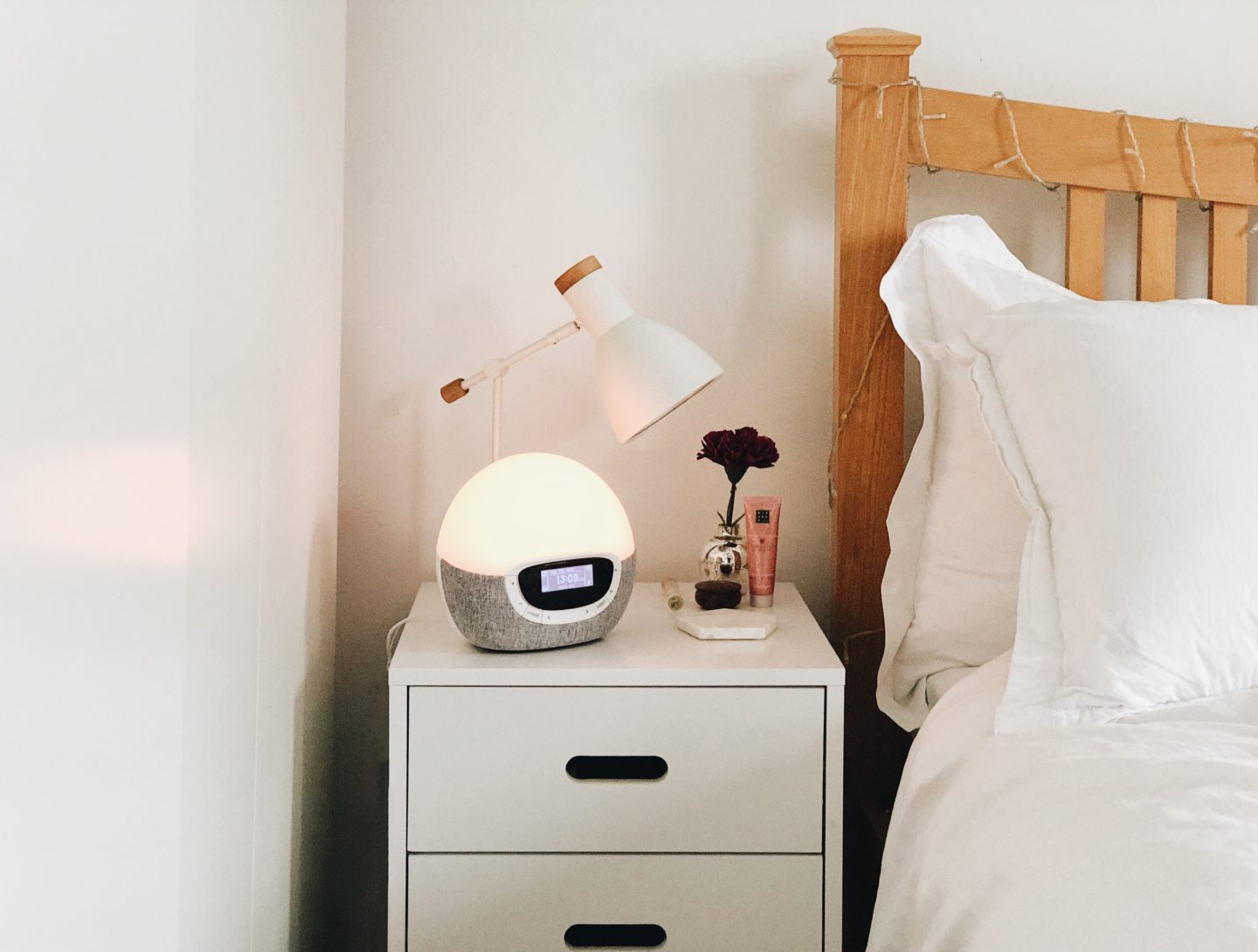 Review Lumie Lamp Alarm Clock