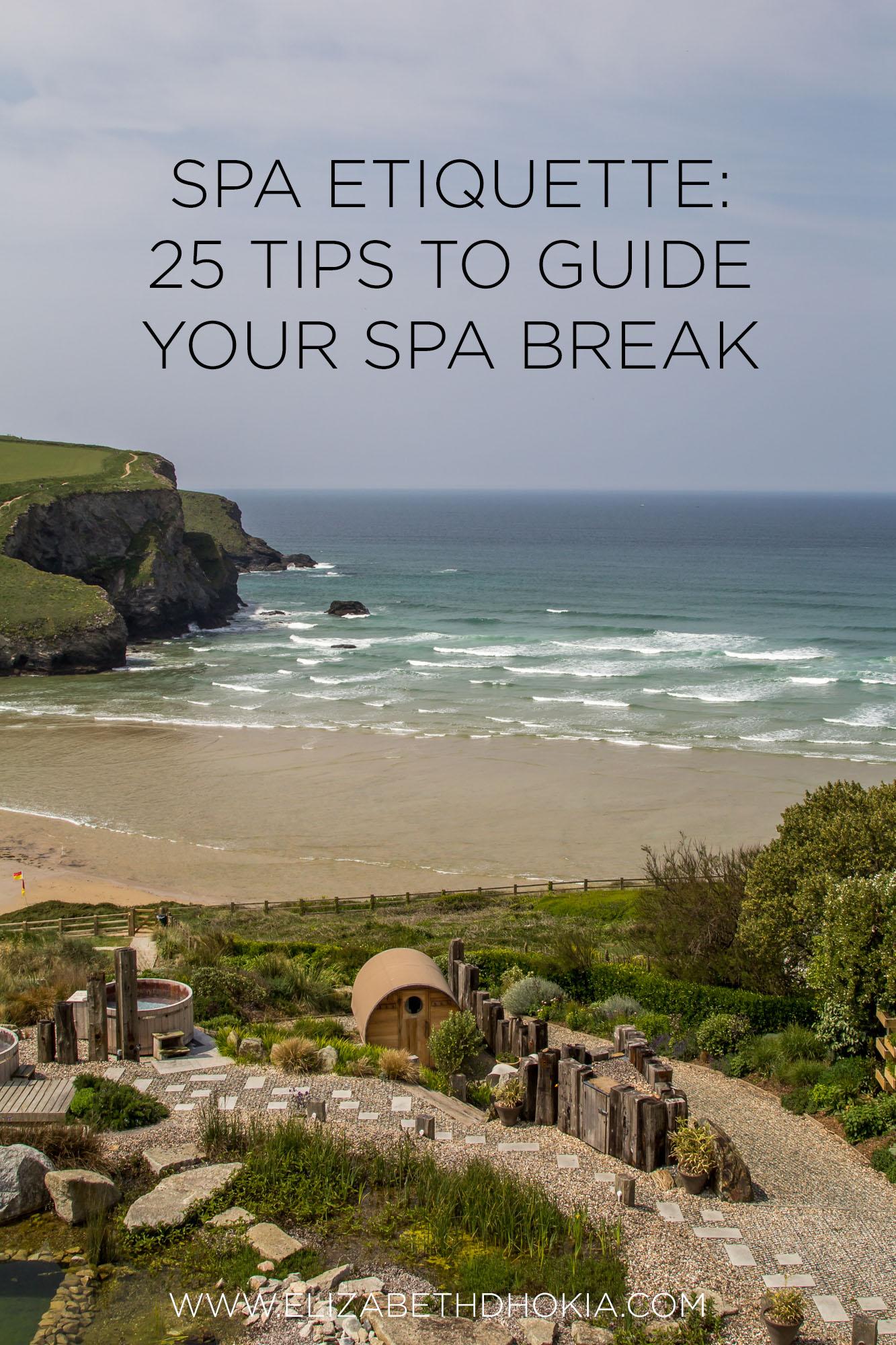 spa etiquette guide