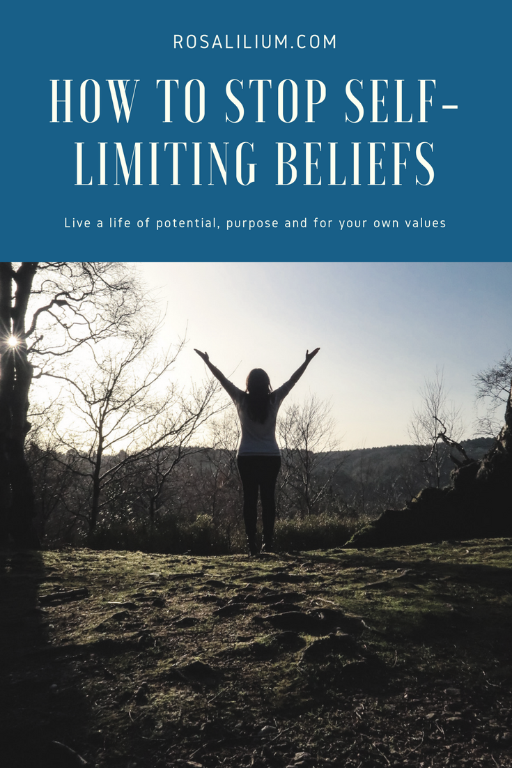 stop self limiting beliefs