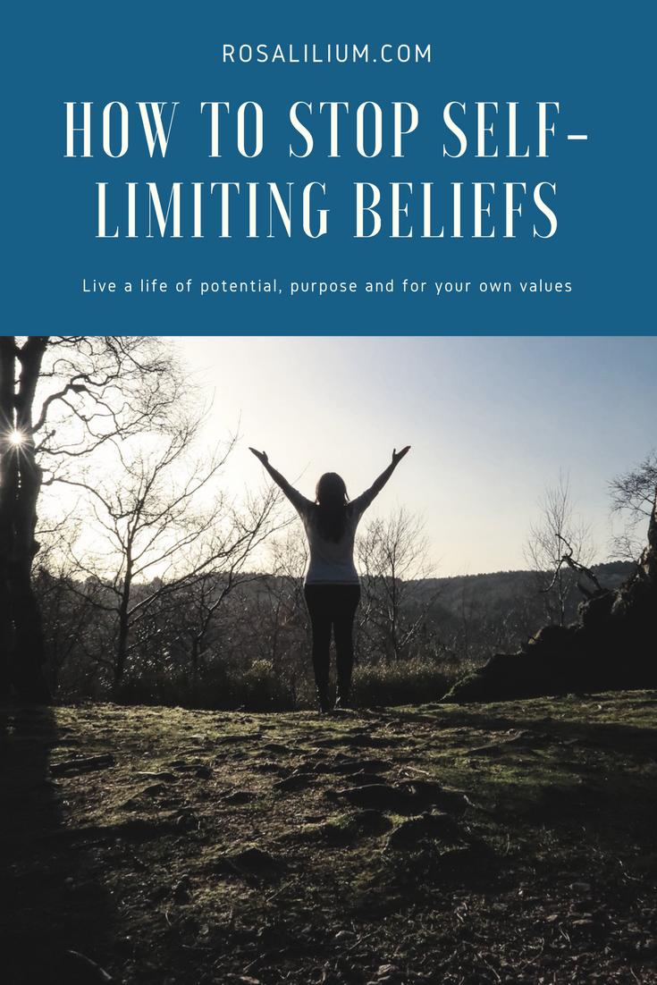 stop self limiting beliefs