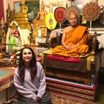 visiting a Buddhist Monk